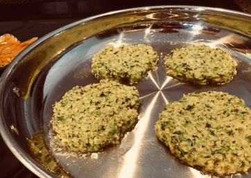 Healthy Protein Quinoa Patties for kids and family